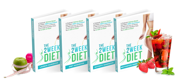 The 2-Week Diet by Brian Flatt is a weight loss program that helps you lose stubborn weight in just two weeks