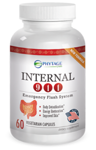 Internal 911 effectively cleanses the colon and purifies the body for an efficient functioning