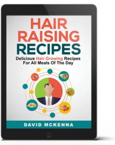 Hair Raising Recipes features 38 delicious recipes with complete directions and guidelines