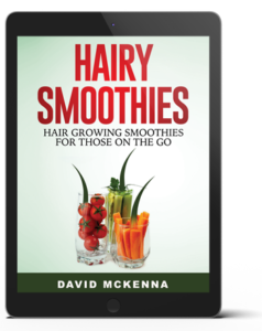 Hairy Smoothies have 20 great nutritious shake recipes that help in growing hair back