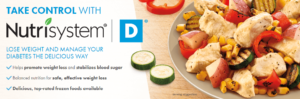 NutriSystem Diabetic Lean ensures balanced nutrition and light movements to ensure health and wellness of its users