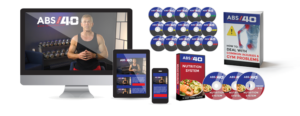 The complete Abs after 40 program is currently on discount and has everything a person needs to kick start his abs journey