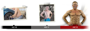 Mark has gone through an incredible transformation with his Abs after 40 program