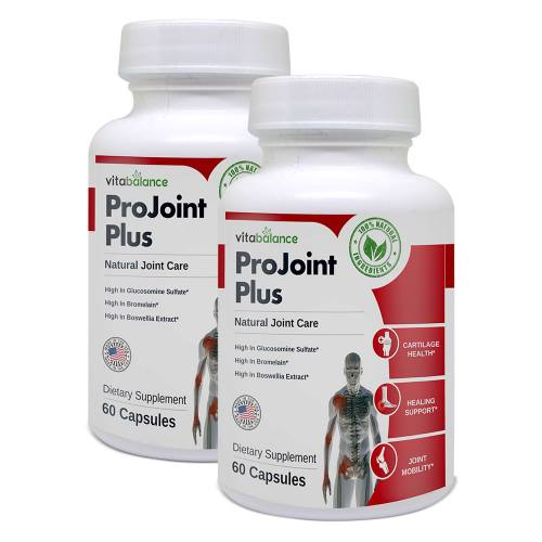 ProJoint Plus is an all-natural supplement that supports joint health and provides relief from joint pain and stiffness