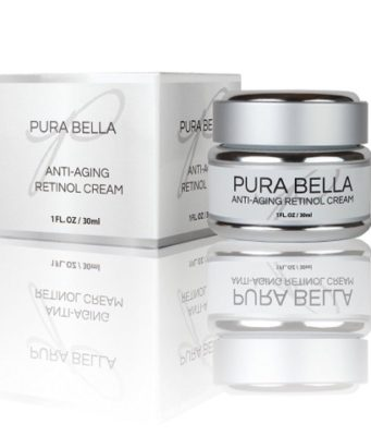 Pura Bella is an anti aging retinol cream that revitalizes skin and minimizes wrinkles and age spots