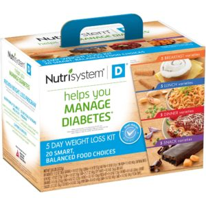 Nutrisystem Diabetic Lean helps the users manage their diabetes and shed unwanted body weight