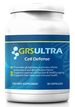 GRS Ultra is a breakthrough cell defense supplement that nourishes the body with glutathione