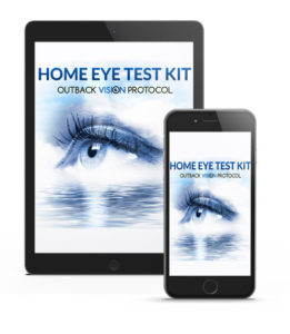 The users will receive a free home eye test kit to track their daily vision improvement