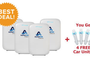 Alexapure Breeze Purifier eliminates harmful toxins from the air and gives us a clean and safe atmosphere to breathe in