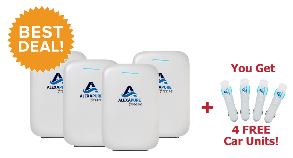 The Alexapure Breeze Air Purifier Review - Cleaning the
