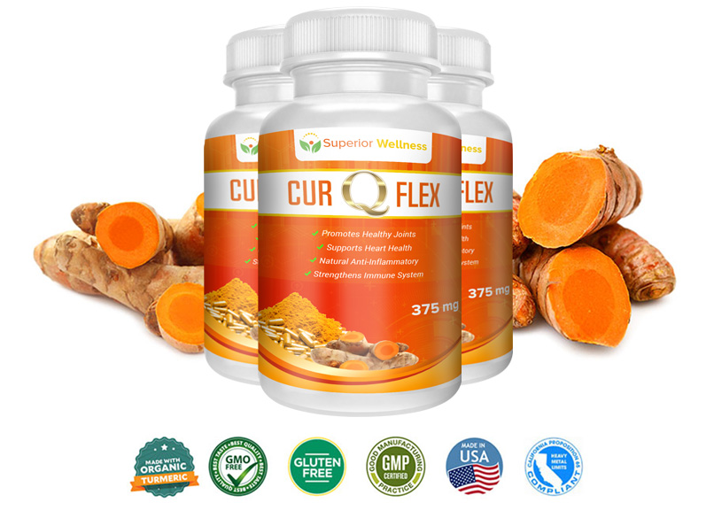 CurQFlex is joint health support supplement that contains anti-inflammatory ingredients to ensure guaranteed results to the users