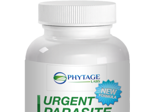 Urgent Parasite Flush restores digestive health and cleanses the gut from the bad bacteria