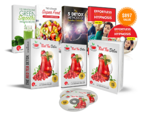The Red Tea Detox program comes with four added bonus materials that further help us in leading a healthy lifestyle