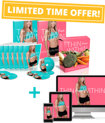 Thin From Within is a weight loss program for women to allow them lead a healthy and happy life