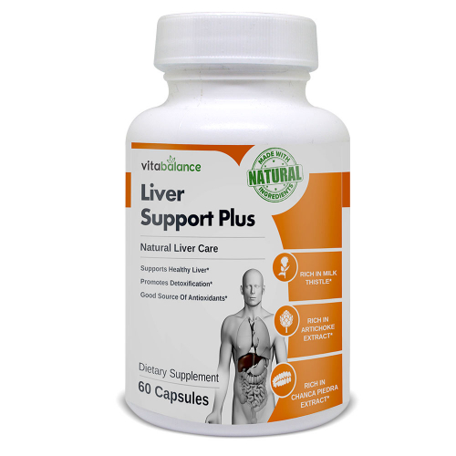Liver Support Plus aims to flush harmful toxins from the body and supports a healthy liver functioning