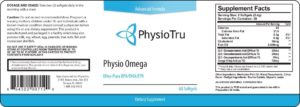 PhysioTru Physio Omega is made of potent ingredients that promotes healthy cardiovascular health