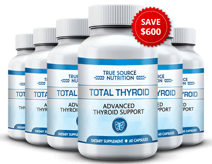 Total Thyroid is an effective thyroid blend that aims to target the root cause of thyroid dysfunction