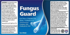 Fungus Guard is made up of all-natural ingredients that bring guaranteed results to the users