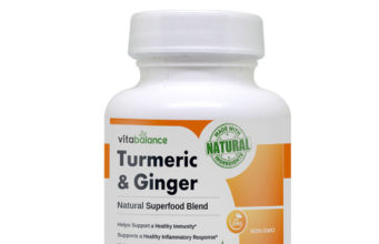 Turmeric & Ginger aims to improve the overall health and wellness by supporting a healthy metabolism, inflammation, and cognition