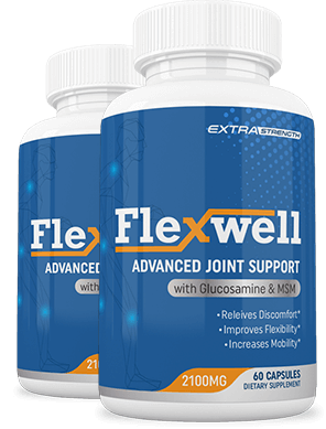 Flexwell Advanced Joint Support is a dietary supplement that aims to relieve joint pain, stiffness, and mobility