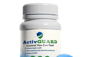 ActivGuard is a health and wellness supplement for men to improve their bladder health