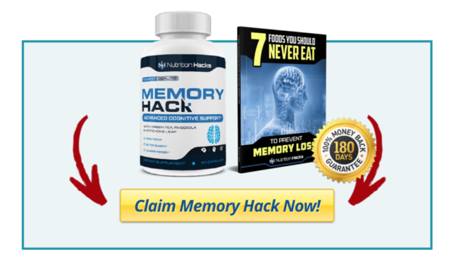 Memory Hack is a mental health supplement that aims to improve cognition