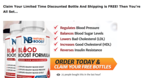 Blood Boost Formula is an effective supplement for blood sugar support