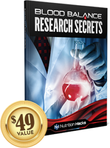 Blood Balance Research Secrets has research secrets relating to the ingredients in the supplement