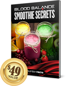 Blood Balance Smoothie Secrets is a bonus report with smoothie recipes