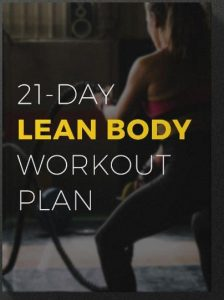 21-Day Lean Body Workout Plan helps in exercising daily
