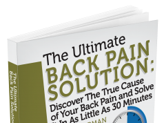 The Ultimate Back Pain Solution helps in relieving back pain via helpful body movements