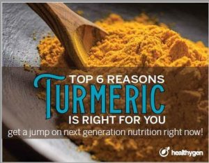 6 Reasons Turmeric is Right  For You tells the importance of turmeric