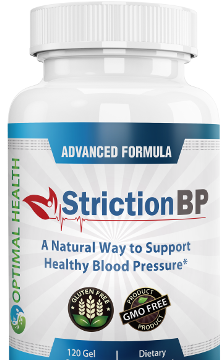 StrictionBP aims to manage a healthy blood pressure in users