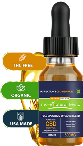 PCR Extract CBD Hemp Oil helps in improving overall health and wellness
