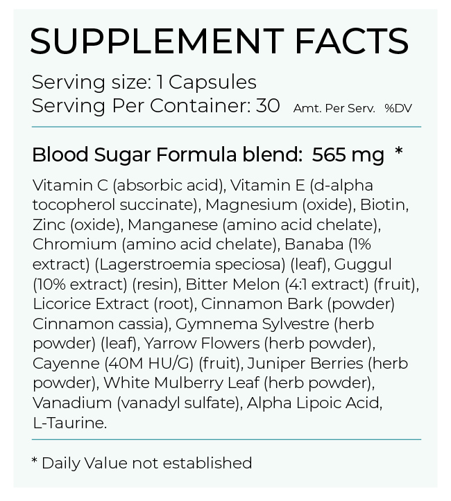 PureHealth Research Blood Sugar Formula has potent ingredients