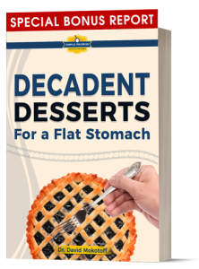 Nutonen comes with a copy of Descadent Desserts for a Flat Stomach
