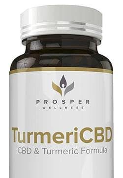 Prosper Wellness TurmeriCBD helps in providing a soothing relief from pain, anxiety, and stress