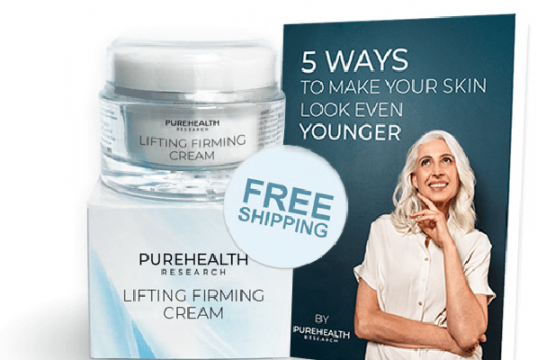 Lifting Firming Cream PureHealth Research helps in plumping the skin