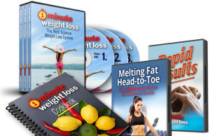 1 Minute Weight Loss makes the body fit and active