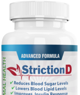 StrictionD Blood Sugar Support helps in optimizing blood sugar levels.