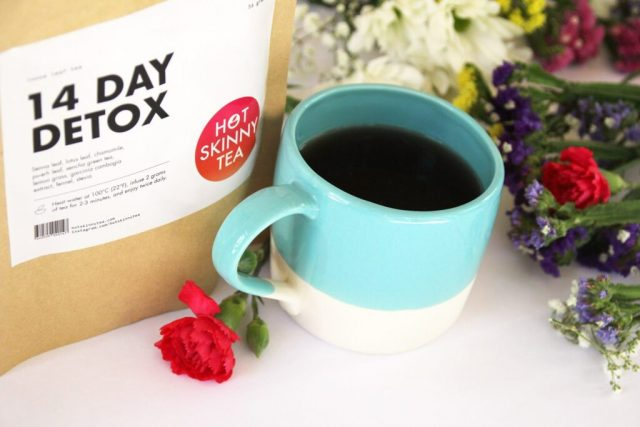 Hot Skinny Tea helps to lose weight in 48 days