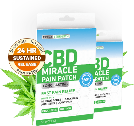 CBD Miracle Pain Patch helps in easing pain
