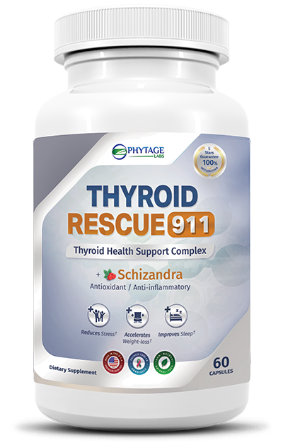 Thyroid Rescue 911 helps in supporting a healthy thyroid