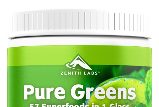 Zenith Labs Pure Greens is a superfood blend for health and wellness