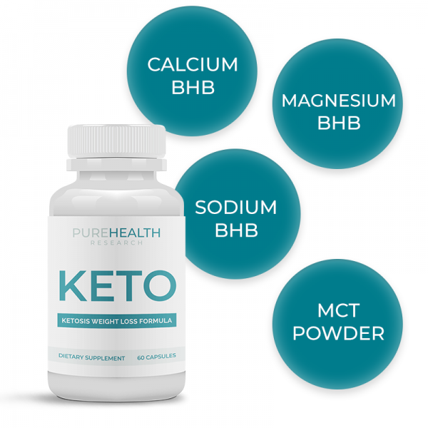 Pure Health Keto Diet helps in ketosis and safe and effective weight loss