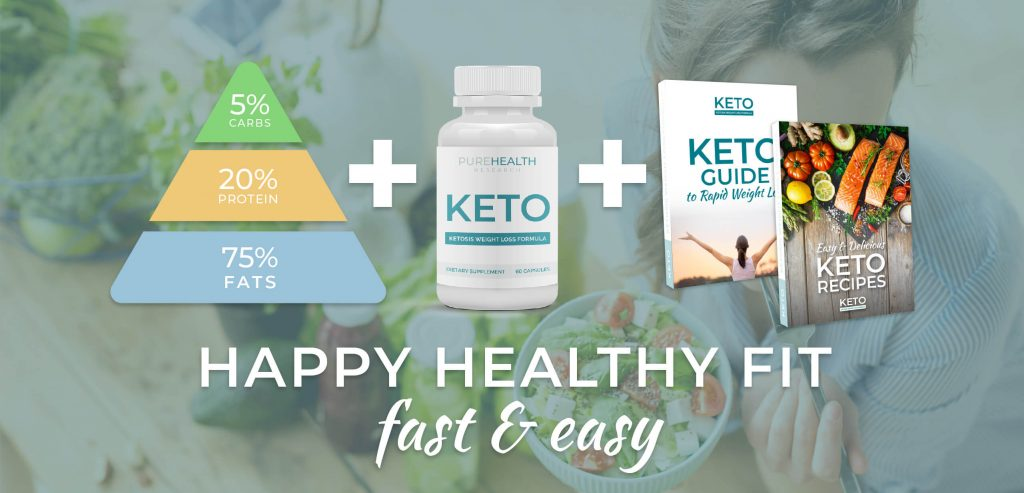 PureHealth Research Keto Formula helps in a happy and healthy life