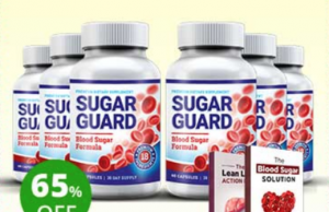 Sugar Guard helps in lowering blood sugar levels