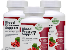 Blood Pressure Support helps in improving blood pressure levels