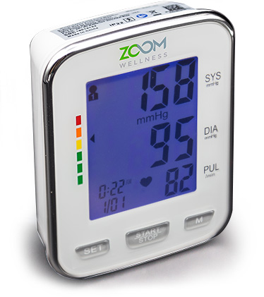 Zoom Wellness BP Wrist Monitor helps in checking your BP levels at home