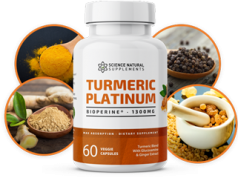 Turmeric Platinum Science Natural Supplements helps in a wide range of health benefits